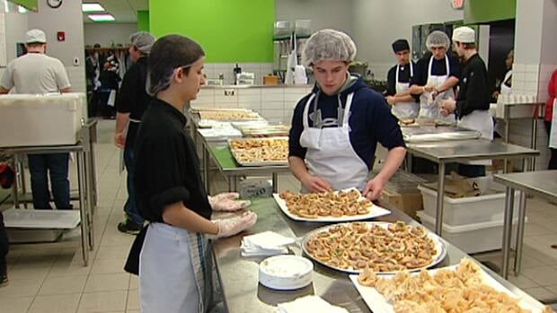 Students will be working in the kitchen for class credit.