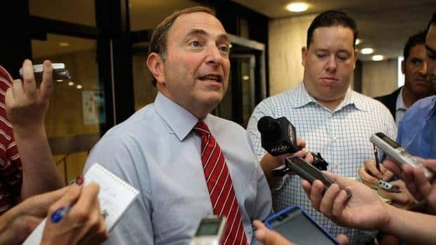 Gary Bettman has given the NHLPA a deadline of Sept. 15 for a new collective bargaining agreement or the players will be locked out.