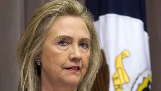 U.S. Secretary of State Hillary Rodham Clinton says she's to blame for the handling of last month's deadly attack on the U.S. consulate in Libya.