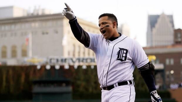 Detroit Tigers slugger Miguel Cabrera became the first player since Carl Yastrzemski in 1967 to win baseball's Triple Crown.