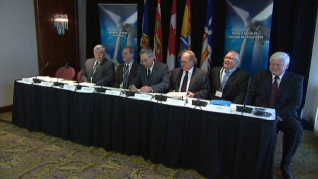 Federal ministers met with provincial energy ministers from across Atlantic Canada to discuss the results of studies aimed at enabling co-operation between various levels of government and utilities.