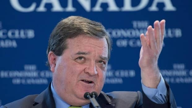 Minister of Finance Jim Flaherty, pictured here addressing the Economic Club of Canada in Toronto on Feb. 6, 2013, and his provincial counterparts tentatively agreed last year to begin mulling over changes to the Canada Pension Plan and bring proposals to the table at their next meeting in June 2013.