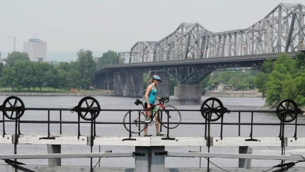 Colonel By Day celebrations are taking place at the Ottawa Locks Monday.