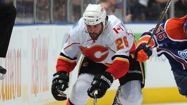 Guillaume Desbiens split last season with the Calgary Flames and the AHL's Abbotsford Heat.