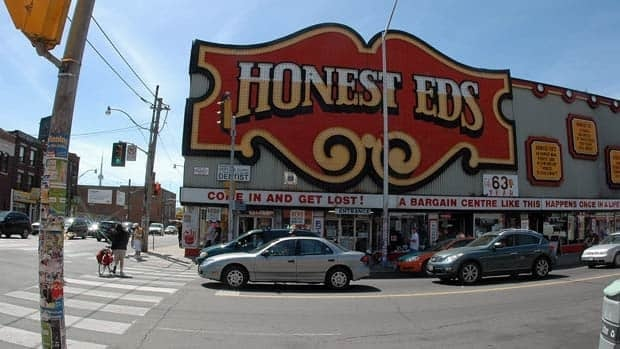 Honest Ed's has become an icon in Toronto's Annex neighbourhood.