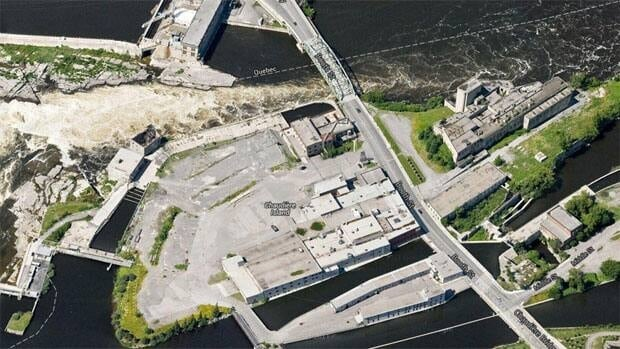 The 37-acres of land includes the former Domtar industrial area on Chaudière Island.