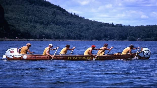Ontario's centennial canoe was used 46 years ago in a cross-Canada race involving teams from all provinces. Atikokan Mayor Dennis Brown said four of Ontario's paddlers were from his community and he wants to give the canoe a higher profile.