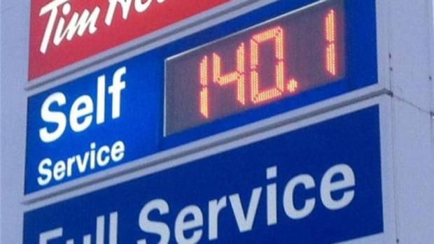 """Gas rose to 140.1 cents a litre in parts of the city. The hike made one man who was filling up Friday morning say """"its simply shocking."""""""