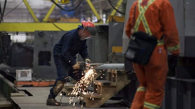 Construction workers in Canada took home on average $1,166 in February, 4.6 per cent more than the year before.