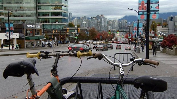 Vancouver has incorporated better signals, lighting, curb bulges and wider sidewalks in its 2040 urban transportation plan.