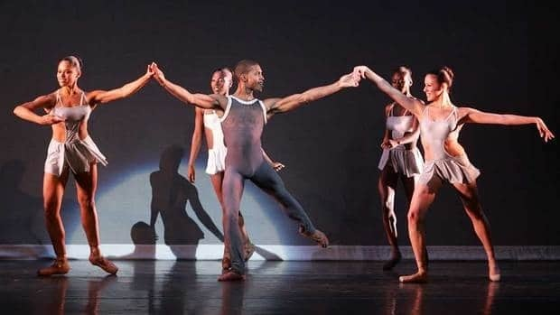Members of Dance Theatre of Harlem perform in New York City. After an eight-year hiatus, the company is being revived.