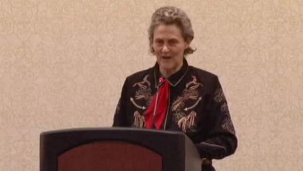 grandin chat Temple grandin, diagnosed with autism as a child, talks about how her mind works -- sharing her ability to think in pictures, which helps her solve problems that neurotypical brains might miss.