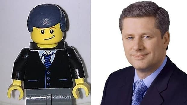 A Lego version of Prime Minister Stephen Harper was created by an Ottawa man and is now on sale online.