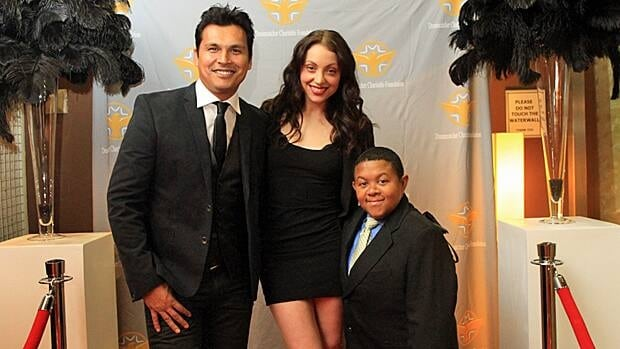 Adam Beach, Leah Gibson and Emmanuel Lewis attend the Dreamcatcher Charitable Foundation awards gala.