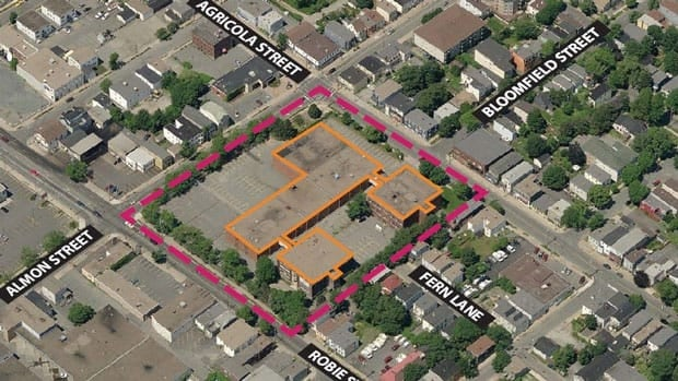 The city is looking for developers interested in the Bloomfield Centre redevelopment project.