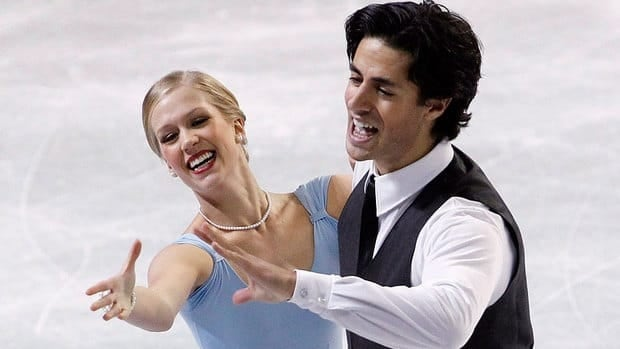 Canadian ice dancers Kaitlyn Weaver and Andrew Poje, seen here at Skate American in October, won silver at last year's Canadian figure skating championships.