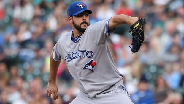 Carlos Villanueva won his first four decisions as a starter and lost his last outing against Seattle.