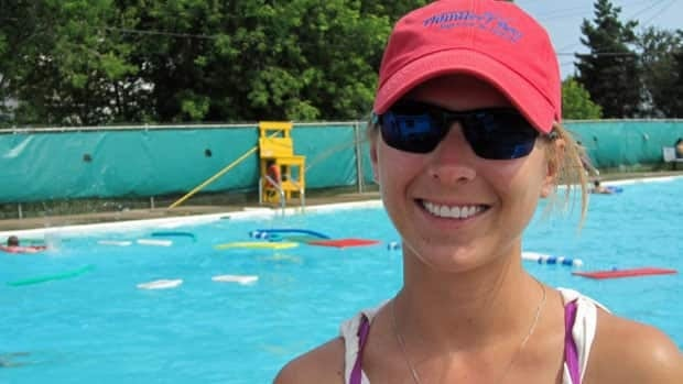 Melissa Vilcek, a lifeguard at the Dease Street public pool in Thunder Bay, encourages everyone to get first aid and CPR training.
