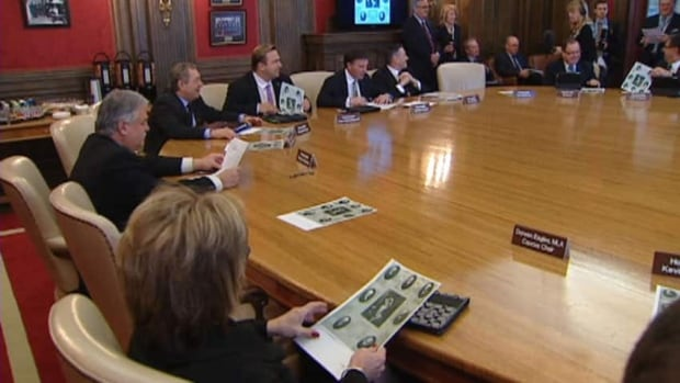 The 2012 cabinet was talking about the 100th anniversary of the first cabinet meeting.