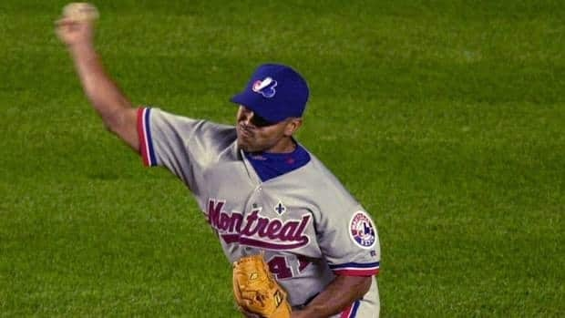 Former Expos pitcher Ugueth Urbina, shown here in 2001, saved 237 big league games from 1995-2005.