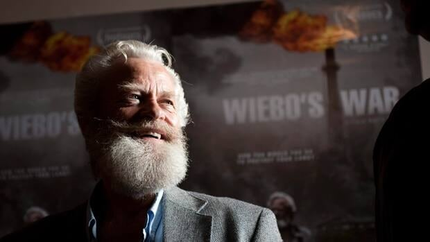 Wiebo Ludwig, seen here at a screening of a 2011 documentary about his life, began his crusade against the oil and gas industry in the 1990s.