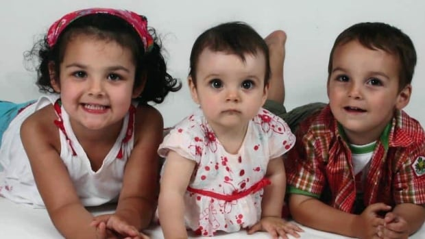 Laurélie, 5, Anaïs, 2, and Loïc, 4, were found dead in a Drummondville home on Sunday.