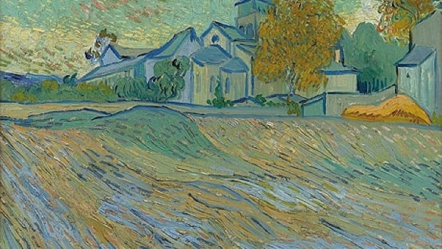 Vincent van Gogh's autumn landscape Vue de l'Asile et de la Chapelle de Saint-Rémy, once owned by actress Elizabeth Taylor, sold for nearly $16 million Cdn this week.