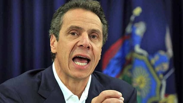 Comparisons of Sandy to Katrina, which swamped New Orleans and the Gulf Coast in 2005, put the East Coast's recovery in focus, New York Gov. Andrew Cuomo says.