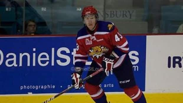 Moncton Wildcats player James Melindy has been selected to play hockey with the NHL's Phoenix Coyotes.