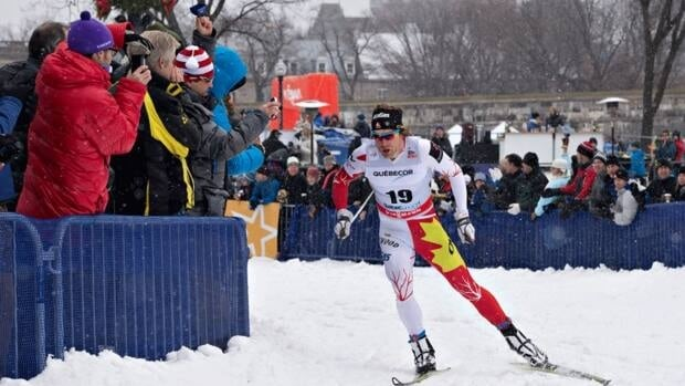 Alex Harvey of St-Fereol-les-Neiges Que., finished 21st at the World Cup cross-country skiing event on Saturday, December 8, 2012 in Quebec City.