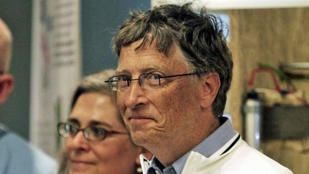 Bill Gates, co-founder of the Bill and Melinda Gates Foundation, attends the Reinvent the Toilet Fair competition at the foundation's campus in Seattle on Wednesday.