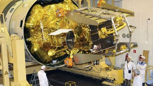A failed Russian Mars probe is expected to fall to Earth Sunday or Monday.