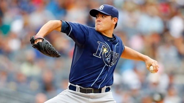 Matt Moore is 14-3 with a 3.41 ERA in 21 starts with Tampa Bay.