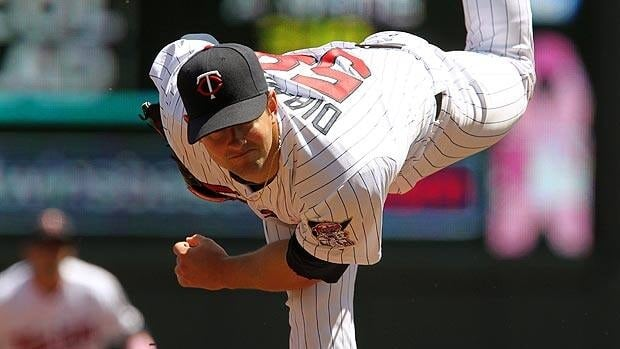 Scott Diamond of Guelph, Ont., seen Sunday, is off to a strong start for Minnesota after going 1-5 in 2011.