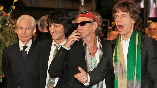 The Rolling Stones, (from left) Charlie Watts, Ronnie Wood, Keith Richards and Mick Jagger, announced a surprise gig in a small Paris club for Thursday evening.