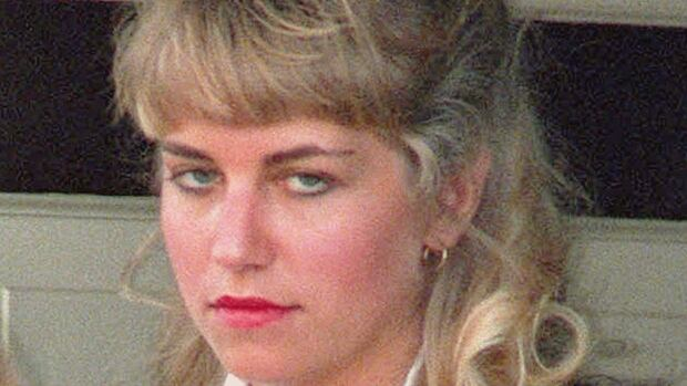 Convicted killer Karla Homolka is shown in a 1993 file photo. A new ebook says Homolka, who served 12 years in jail for the lurid killings of two Ontario schoolgirls in the 1990s, is a mother of three and living in the Caribbean.