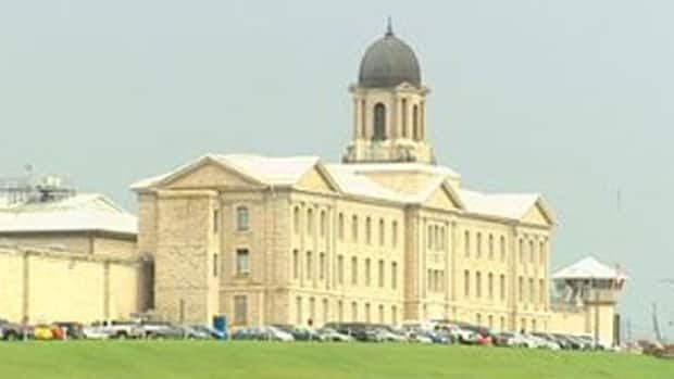 A search is underway at Stony Mountain Institution, north of Winnipeg, which remains under lockdown.