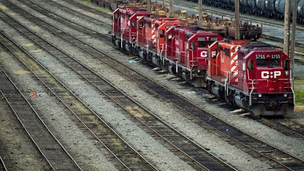 Shares in Canadian Pacific hit a new 52-week high Wednesday. A day earlier, the railway said 4,500 jobs would be cut by 2016.