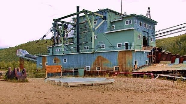 Dredge No. 4 on historic Bonanza Creek where the Klondike Gold rush began is closing indefinitely next month because of federal spending cuts.