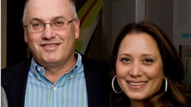 Billionaire hedge fund manager of Steven Cohen is shown in 2009 with his wife Alexandra. His SAC Capital Advisors has been hit with white-collar criminal charges