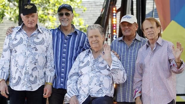 Beach Boys members (from left) Mike Love, David Marks, Brian Wilson, Bruce Johnston and Al Jardine reunited for the band's 50th anniversary this year, but the good vibrations seem to have ended.