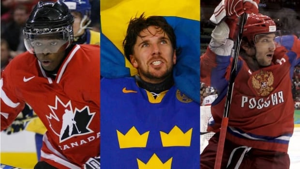 From left to right, P.K. Subban, Henrik Lundqvist, and Alex Ovechkin are some of the best at their respective positions in the NHL.