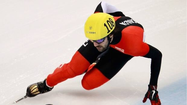 Charles Hamelin of Canada, shown in this file photo, picked u his second medal in Nagoya, Japan in as many days. Hamelin skated to silver on Sunday in the 500 metre event, a day after snagging bronze in the 1500.