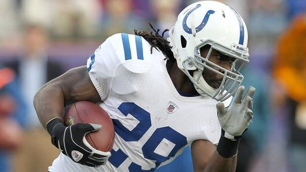 Indianapolis Colts back Joseph Addai runs with the ball against the New England Patriots last season. Addai has been the team's feature running back since 2006.