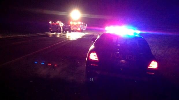 Emergency crews are on scene of a serious crash in Kingville on Highway 3.