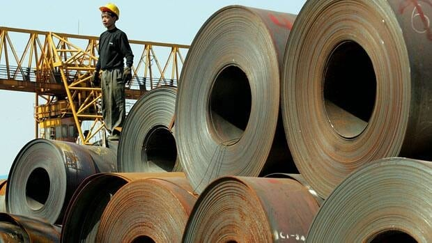 China's biggest steelmaker, Baosteel Group, announced Thursday it will close its factory in Shanghai, shown in 2004.