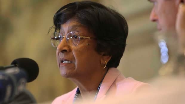 Navi Pillay mentioned Quebec along with several human rights hotspots around the world including Syria, Mali, Nepal, Mexico and Russia.
