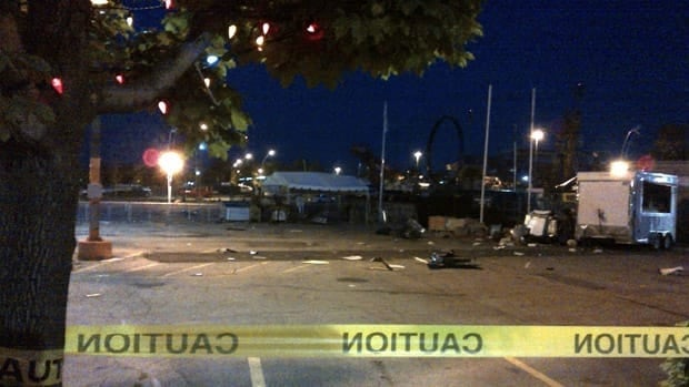 Police say an explosion occurred early Friday morning on the grounds of the Canadian National Exhibition.