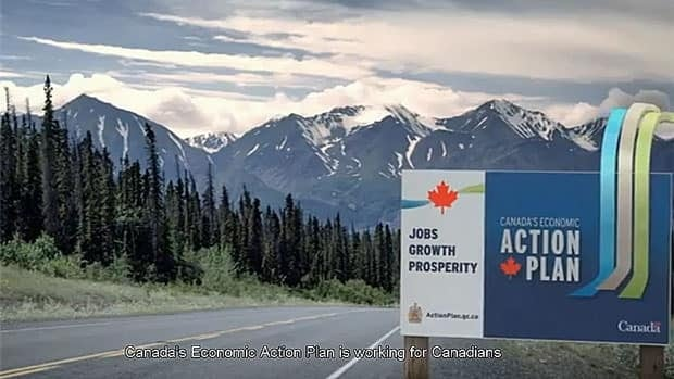 The Conservative government has approved $16 million for ads this fall to promote its 'economic action plan' or budget measures. 'Canada's Economic Action! Plan' was the name the government used for its stimulus budgets.