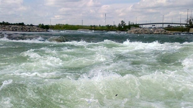 Harvie Passage on the Bow River is closing for flood repairs.